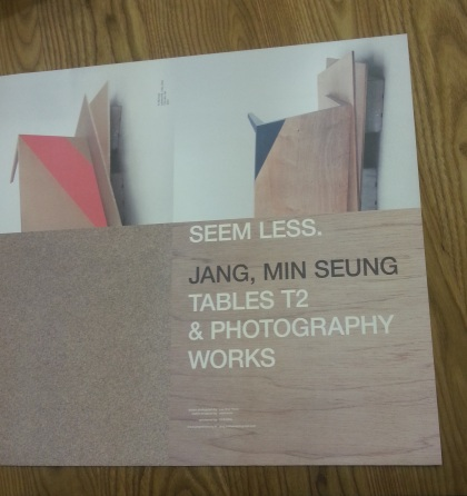 SEEM LESS, Tables T2, & Photography Works