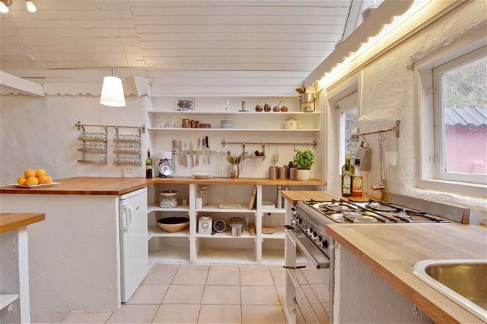 Kirsebærhuset, køkken
