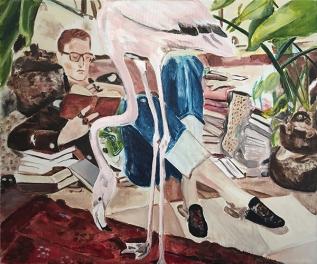 CHARLOTTE-NEEL RITTO, 2017, acrylic on canvas, 60 x 50 cm